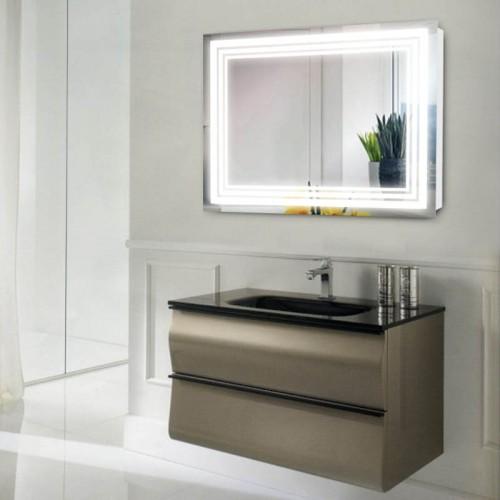 """Зеркало в ванную комнату с лед подсветкой """"Отражение"""""""