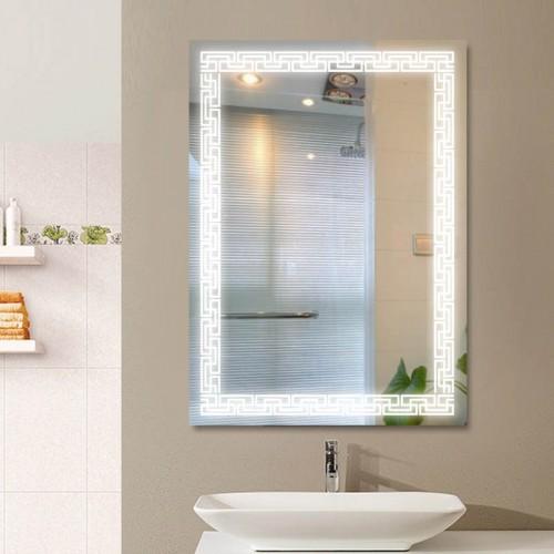 """Зеркало в ванную комнату с лед подсветкой """"Сиртаки"""""""