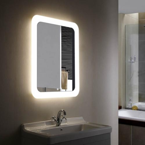 """Зеркало в ванную комнату с 3D подсветкой """"Фантом"""""""
