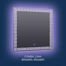 """Зеркало с 3D подсветкой """"Слава"""""""