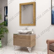 Зеркало в багете 650х1250 мм