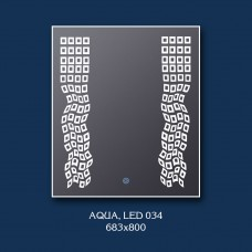 """Зеркало с лед подсветкой """"Aqua"""""""