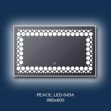 """Зеркало с LED подсветкой """"Peace"""""""
