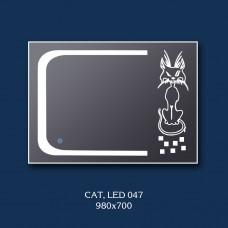 """Зеркало с LED подсветкой """"Cat"""""""