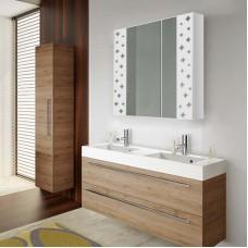 Зеркальный шкафчик в ванную комнату без подсветки Ш 5164