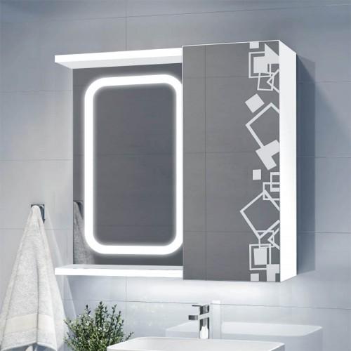 Зеркальный шкафчик с подсветкой Ш 4357/2