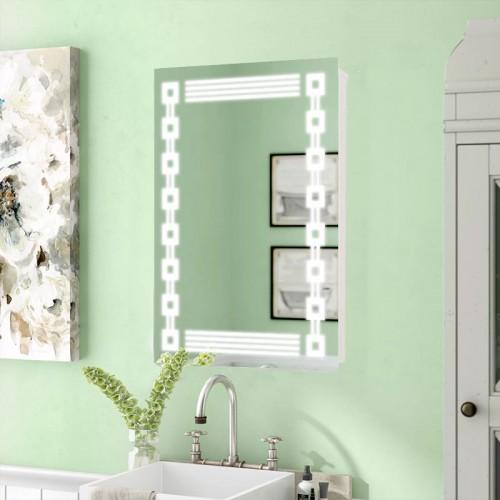 """Зеркало в ванную комнату с LED подсветкой """"Феерия"""""""