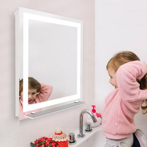 "Зеркало в ванную комнату с LED подсветкой ""Ванга"""
