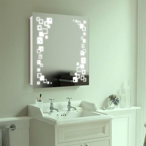 """Зеркало в ванную с LED подсветкой """"Премьера"""""""