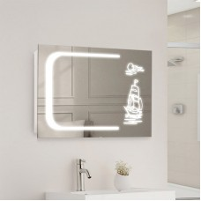 "Зеркало с LED подсветкой ""Парус"""