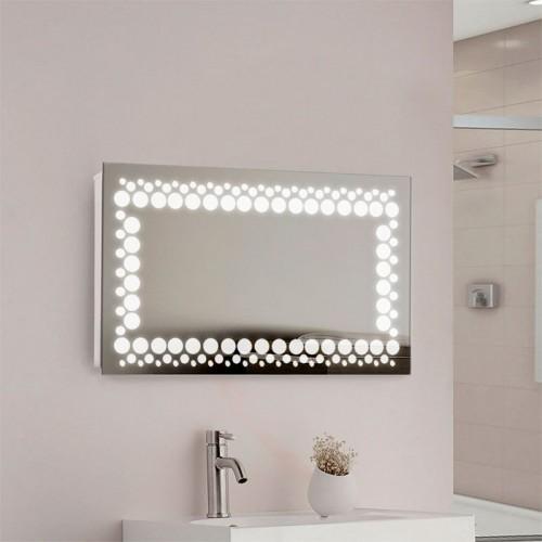 "Зеркало в ванную комнату с LED подсветкой ""Peace"""
