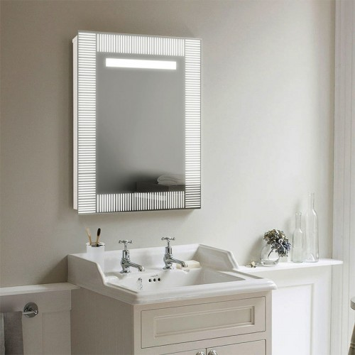 "Зеркало для макияжа с LED подсветкой ""Соломка"""