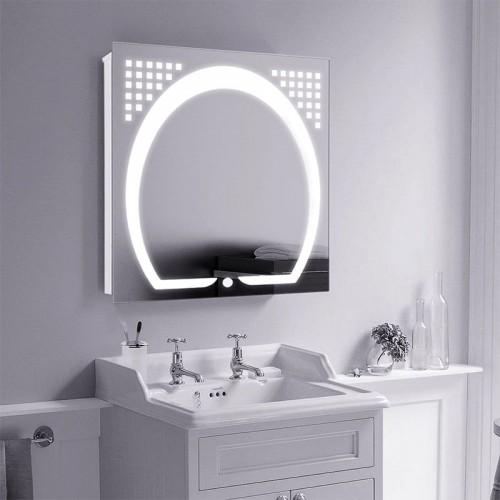 """Зеркало в ванную комнату с LED подсветкой """"Аркадия"""""""