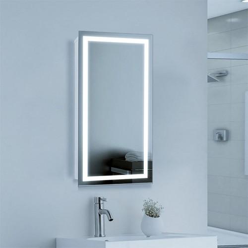 "Зеркало в ванную комнату с LED подсветкой ""Дебют"""