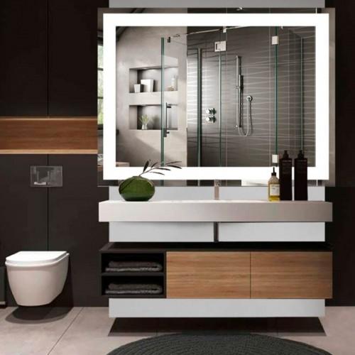 "Зеркало в ванную комнату с LED подсветкой ""Galaxy"""